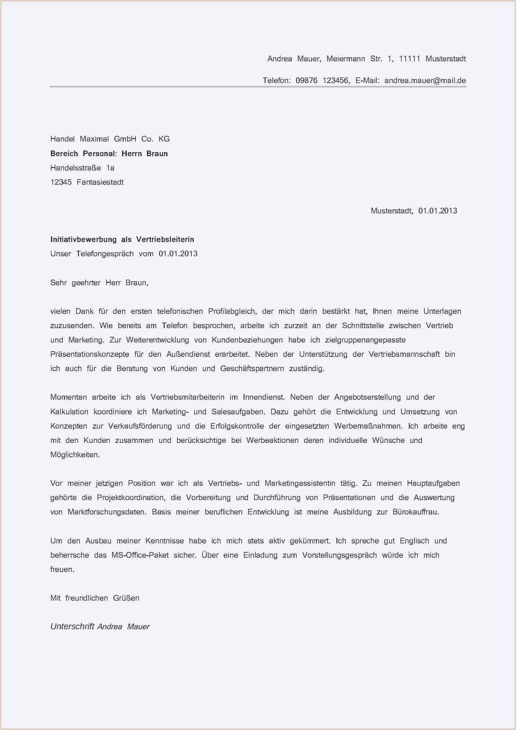 Bewerbung Kommissionierer Quereinsteiger Vorlage