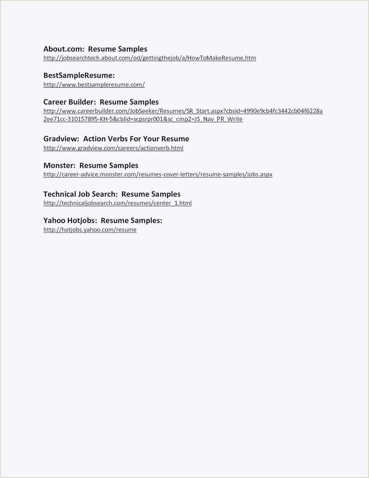 Lebenslauf Muster Template 25 Druckbare Lebenslauf Arbeit Vorlage Brief