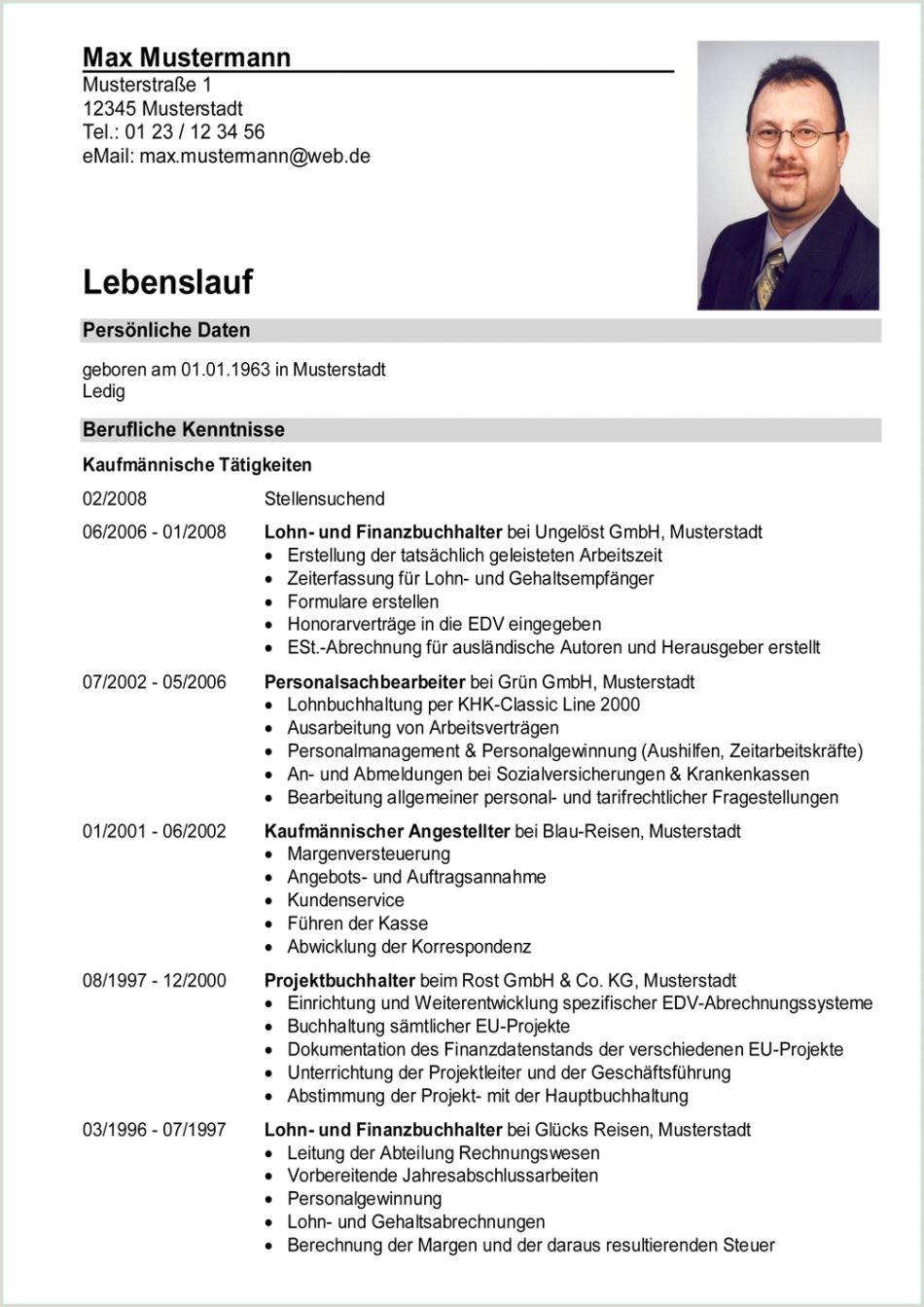 Lebenslauf Muster Unterschrift Qualifiziert Tabellarischer Lebenslauf Berufskolleg Vorlage