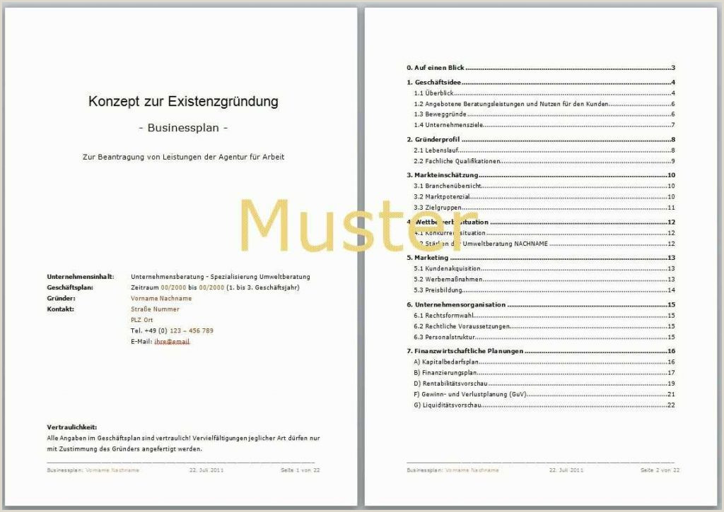 Business Plan Muster Editierbar Lebenslauf Muster Word Free