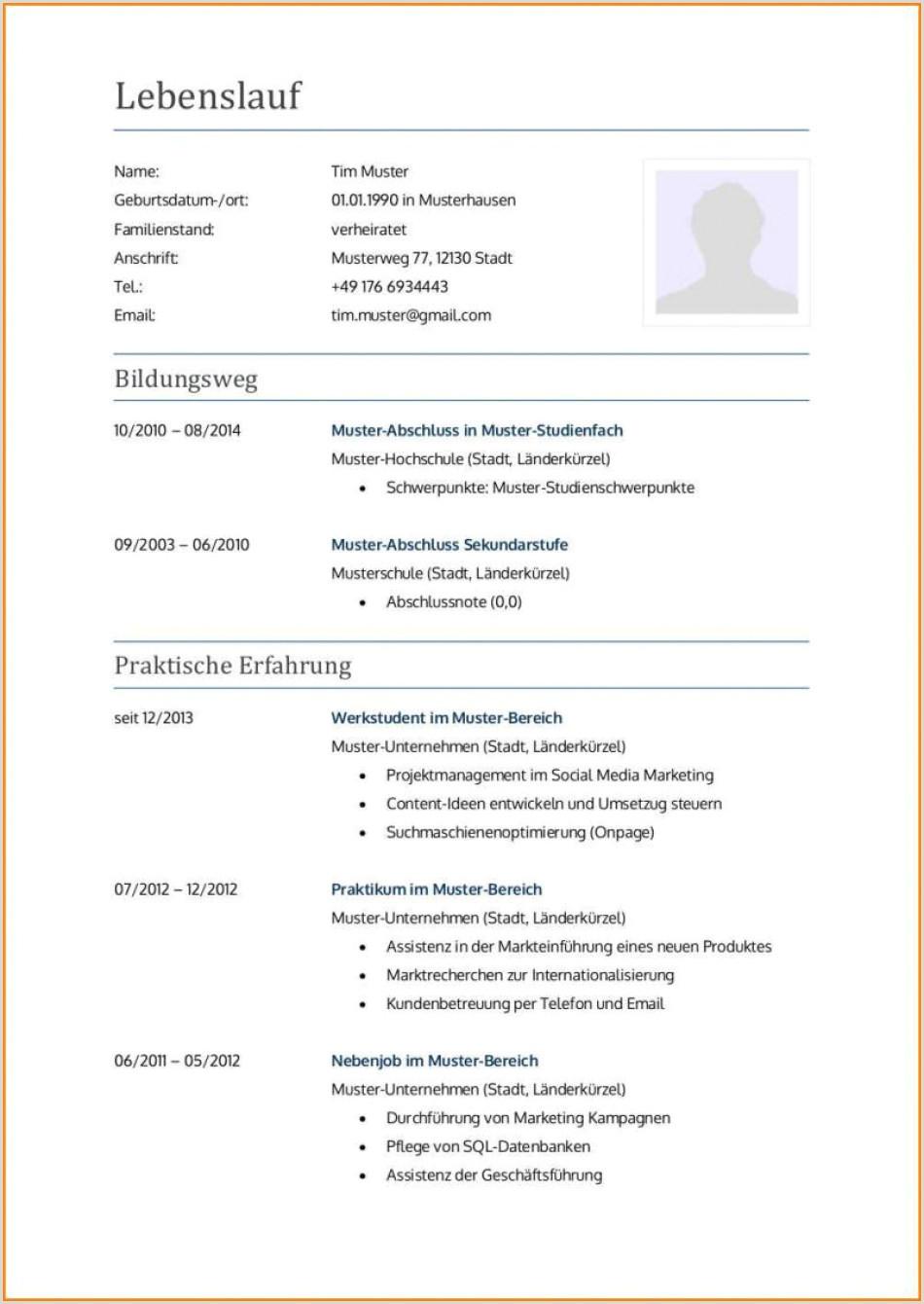 Lebenslauf Muster Zahnmedizinische Fachangestellte 11 Lebenslauf Bewerbung Ausbildung
