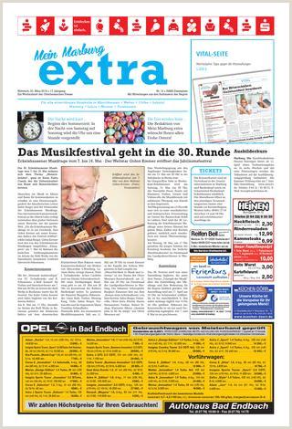 Lebenslauf Vorlage Klassisch Schüler Mein Marburg Extra Et 23 03 2016 by Petra Fischer issuu