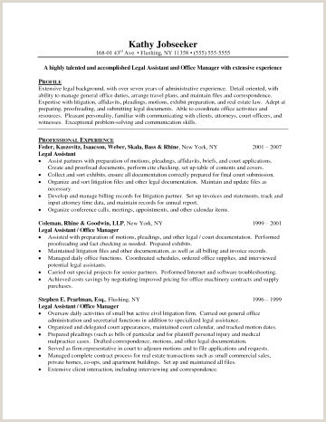Litigation Hold Letter Inspirational Legal assistant Resume