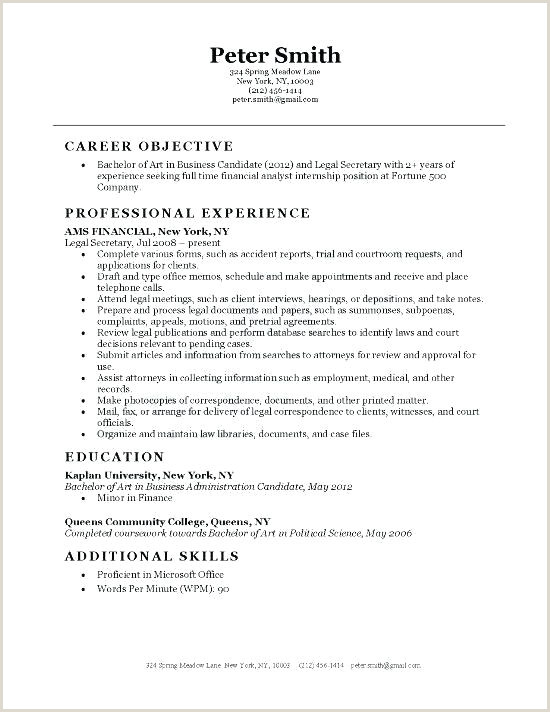 Attorney Cv Template Law Template Legal Secretary Resume