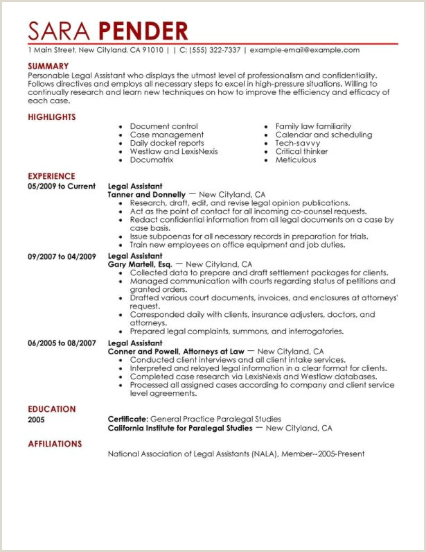 98 Paralegal Cover Letters Entry Level Paralegal Cover