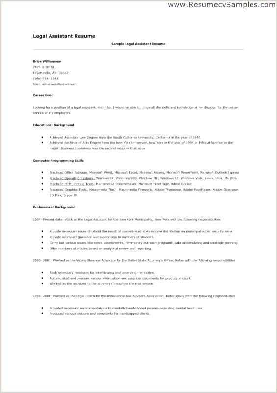 Secretary Resume Examples Best Secretary Resume Example