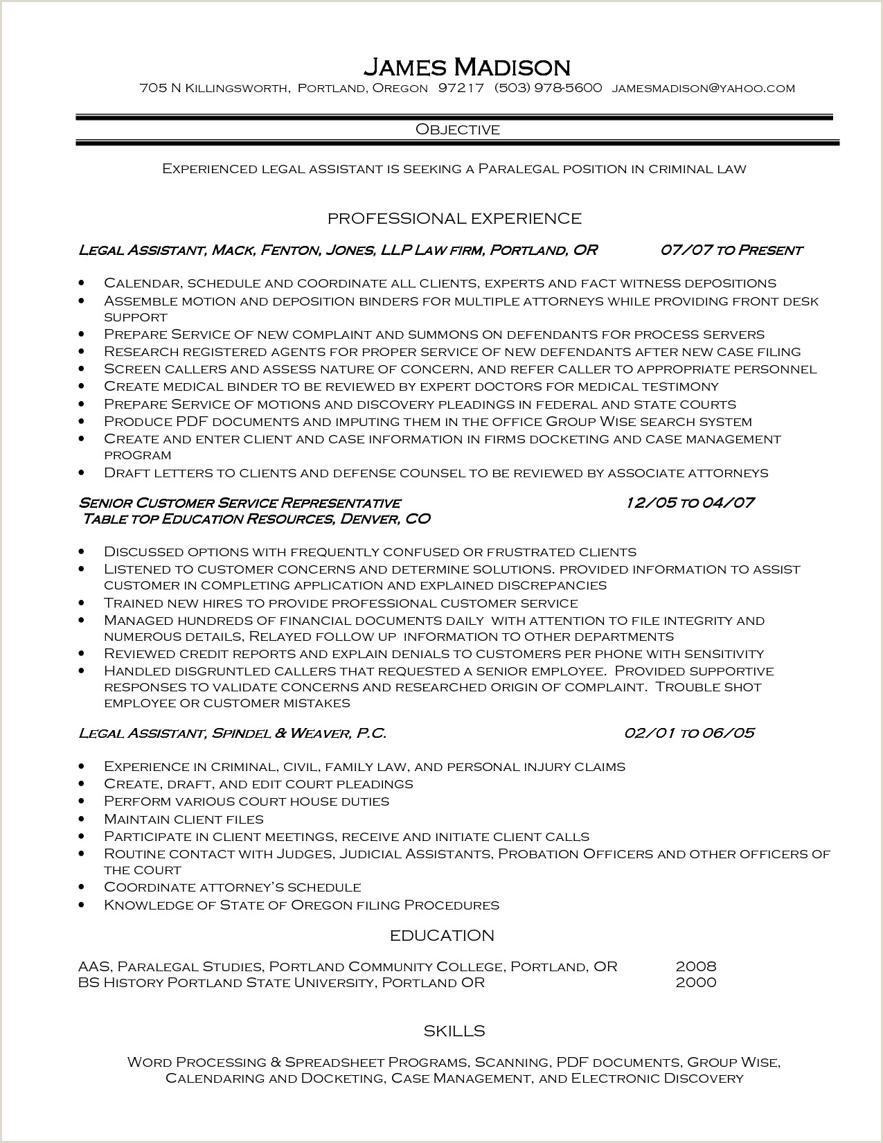 Legal Secretary Resume Template Pin by Miranda Sweeney On Legal Secretary