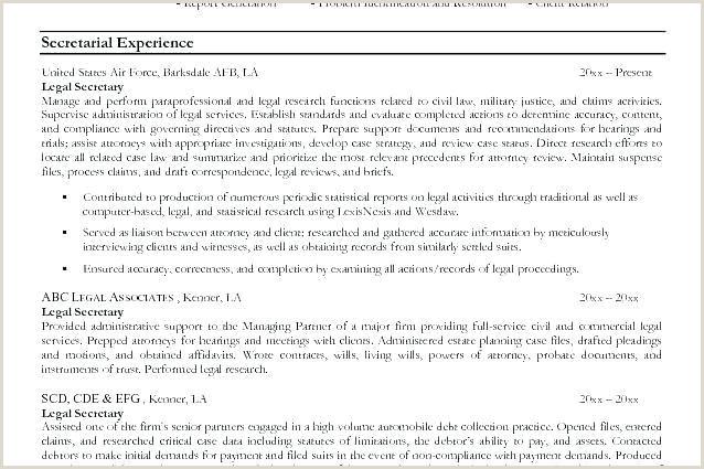 Legal assistant Job Description Resume Examples Legal