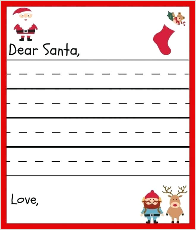 Letter To Santa Template Free A Printable Blank What Mommy