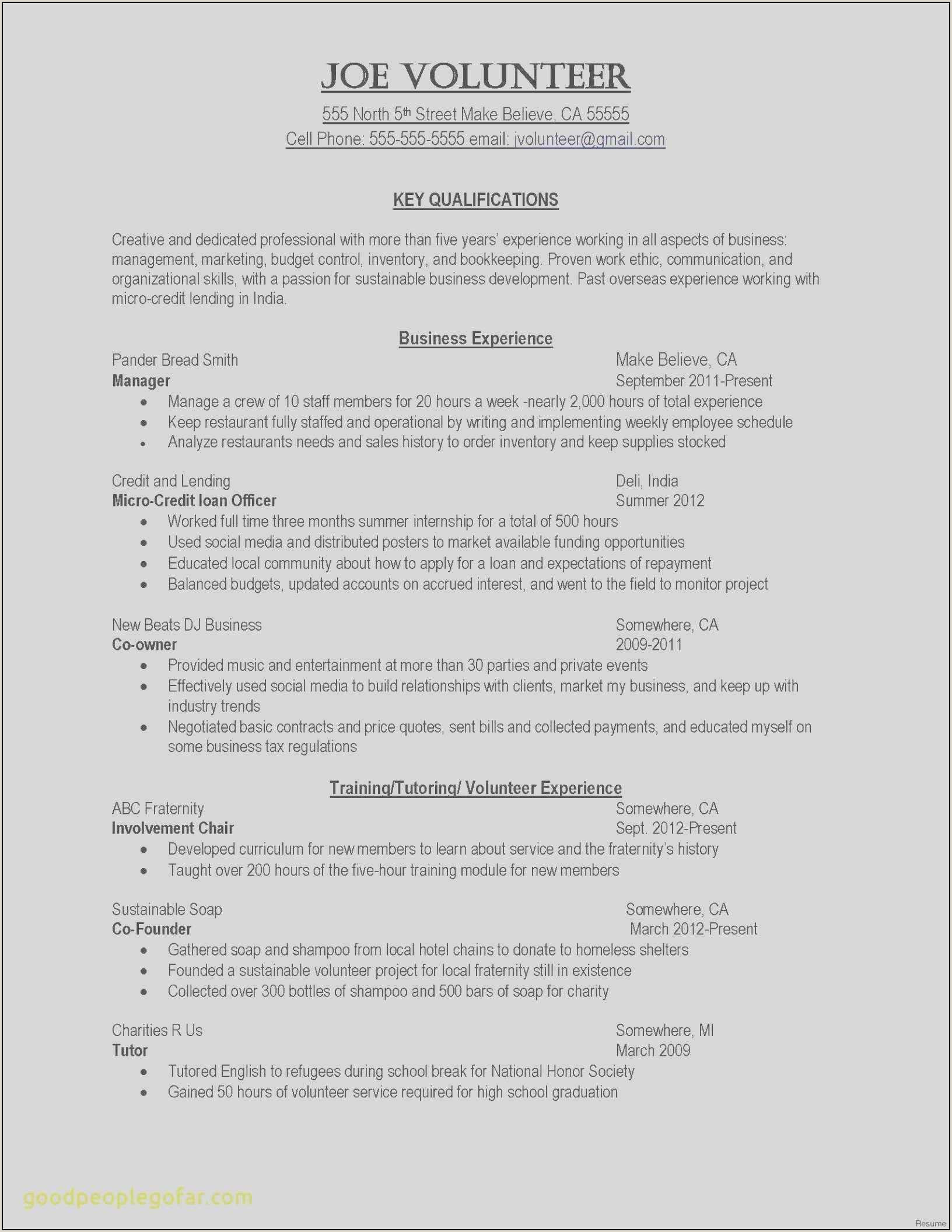 Letter Of Credit Resume Cover Letter International Experience Sample Awesome Fresh