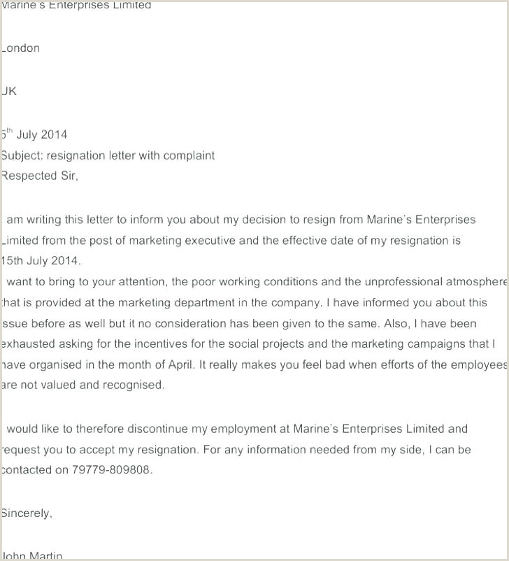 Workplace Harassment Letter Template Formal plaint Form