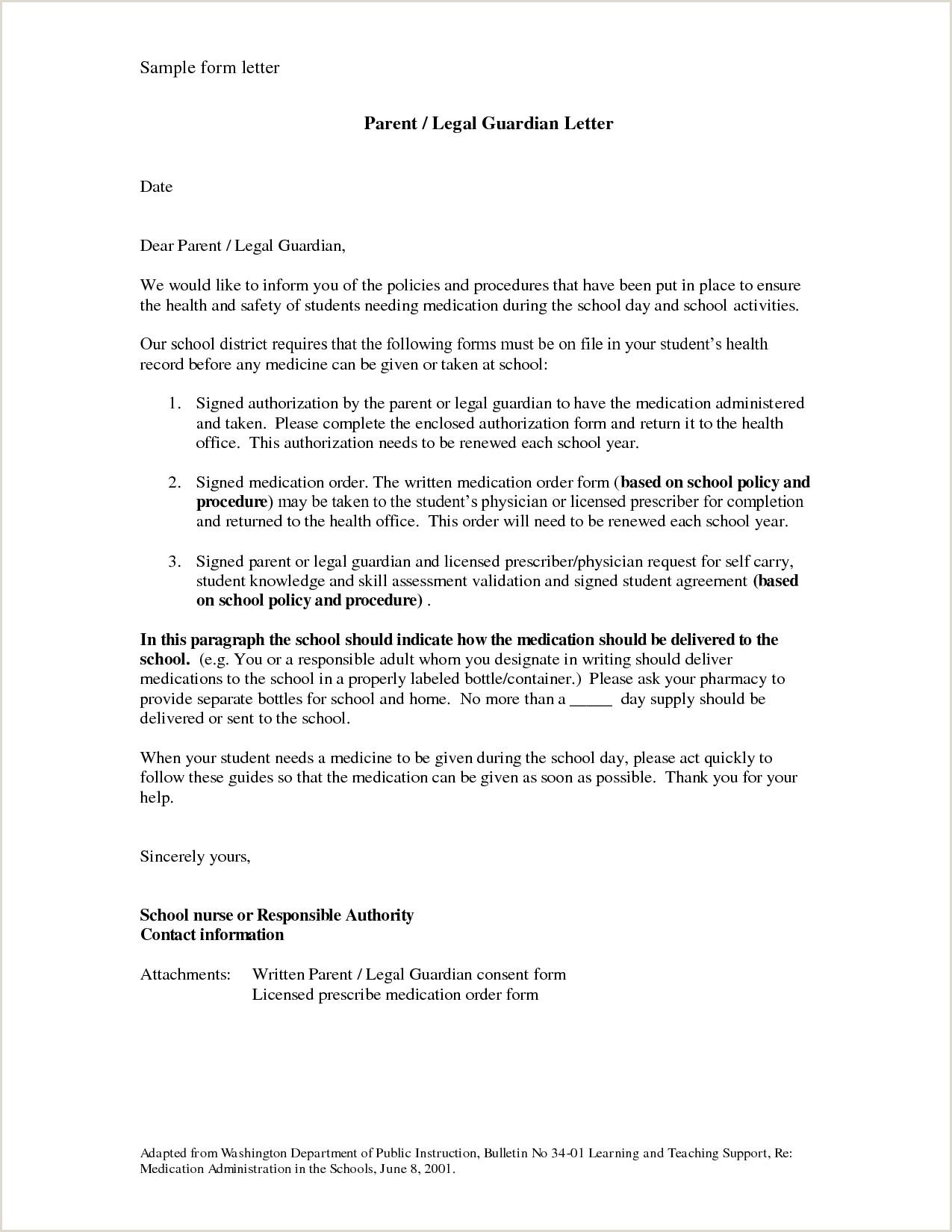 Letter Of Guardianship Sample Temporary Guardianship Letter Sample