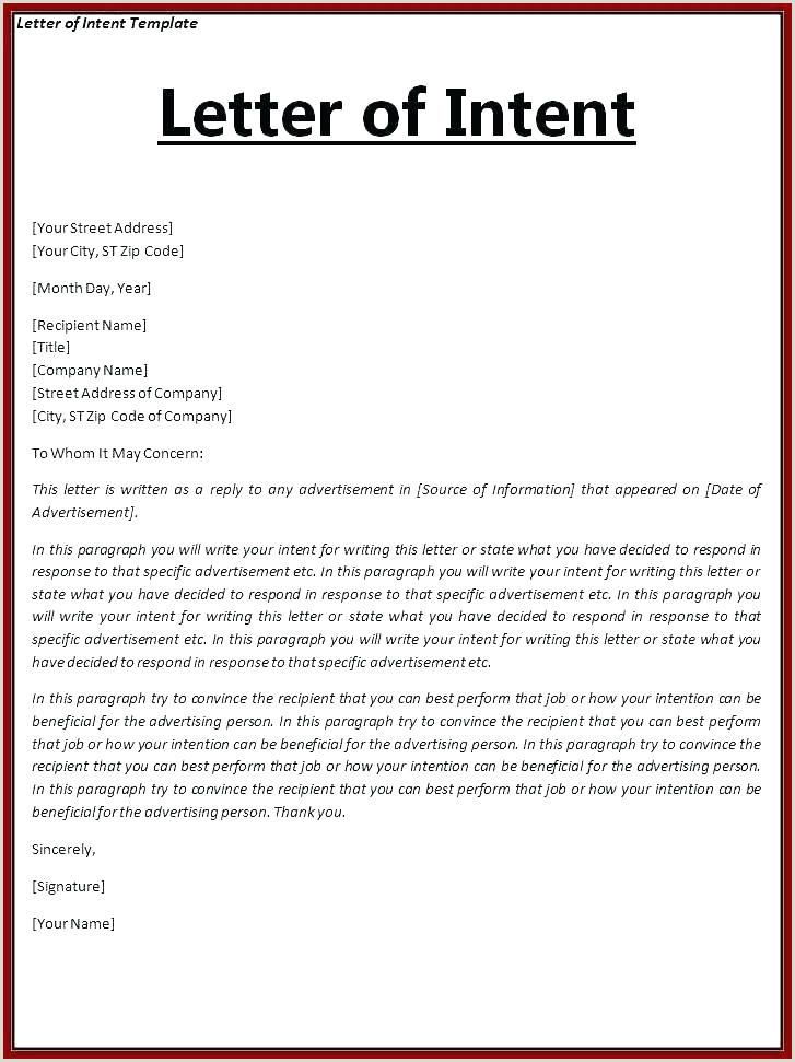 letter of intent for internship Zoroaggs
