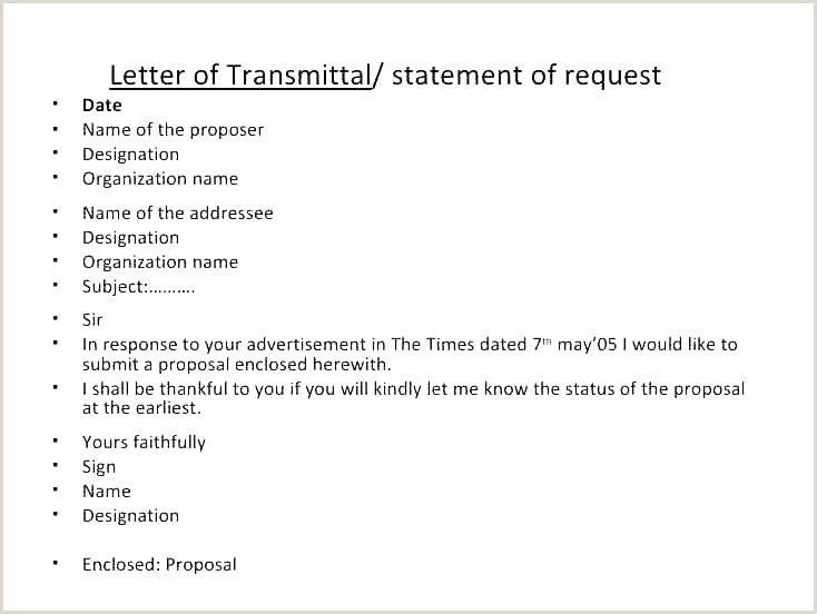 Letter Of Transmittal Template Doc Transmittal Letter for Governor Template Example Sample