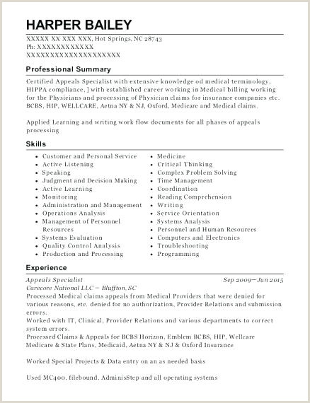 insurance claims processor sample resume – podarki