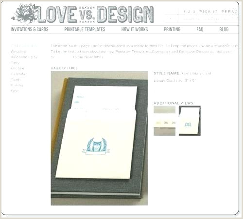 Library Pocket Template Library Card Invitation Baby Shower Lovely Book Free
