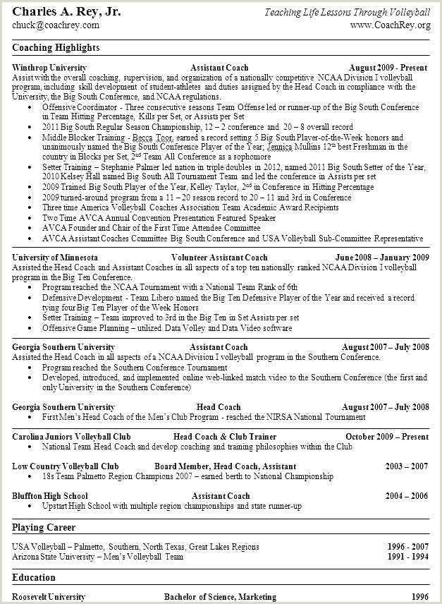 Life Coach Resume Example Hockey Coach Sample Resume – Ha
