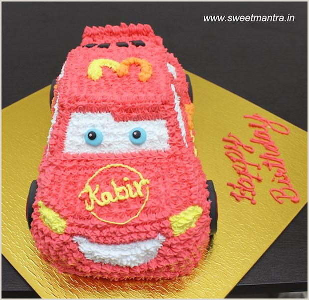 Lightning Mcqueen Cake Pan Disney Pixar Cars Lightning Mcqueen Shaped theme Fresh Cream