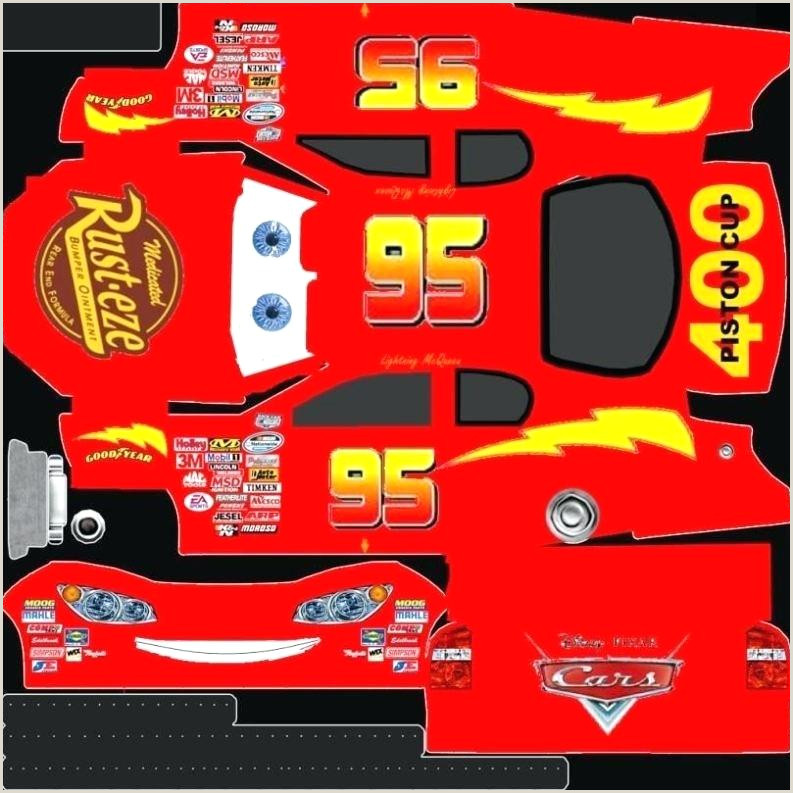 template for lightning mcqueen cake – wasternfo