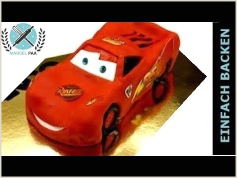 3D Cars Torte Lightning mcqueen cake