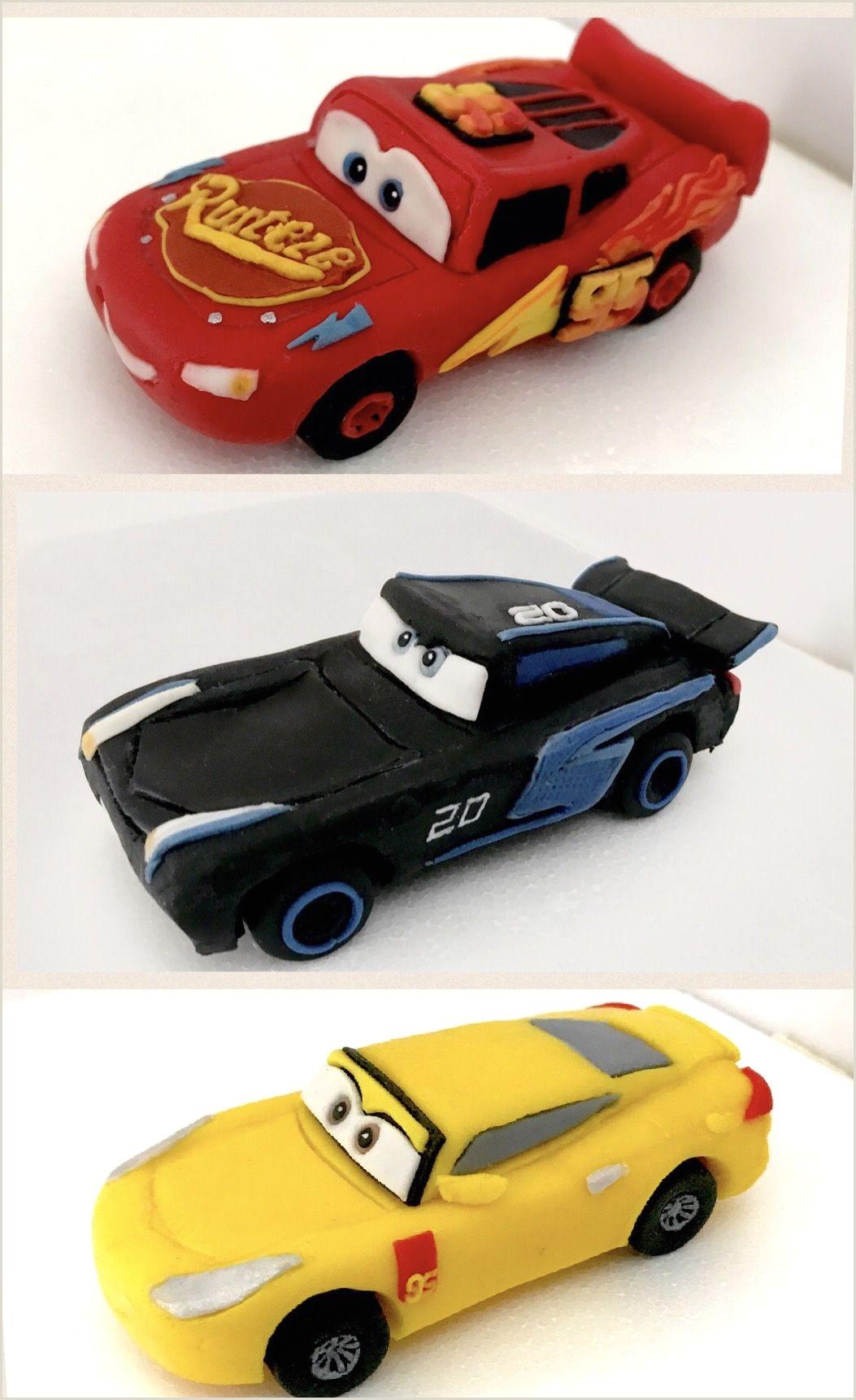 Cars 3 Lightning McQueen Jackson Storm and Cruz Ramirez