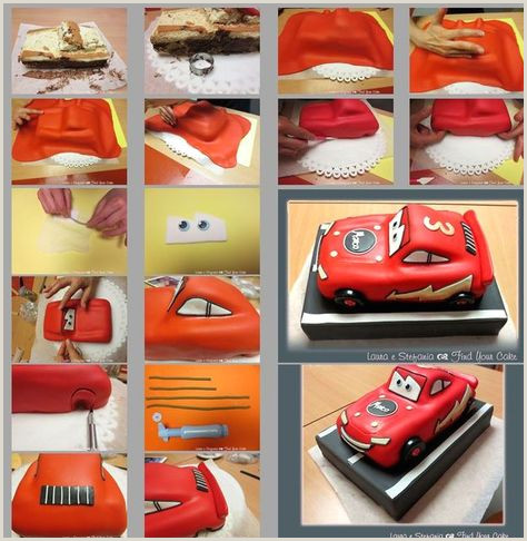Cars Lightning McQueen Mater etc small toppers Car Cakes