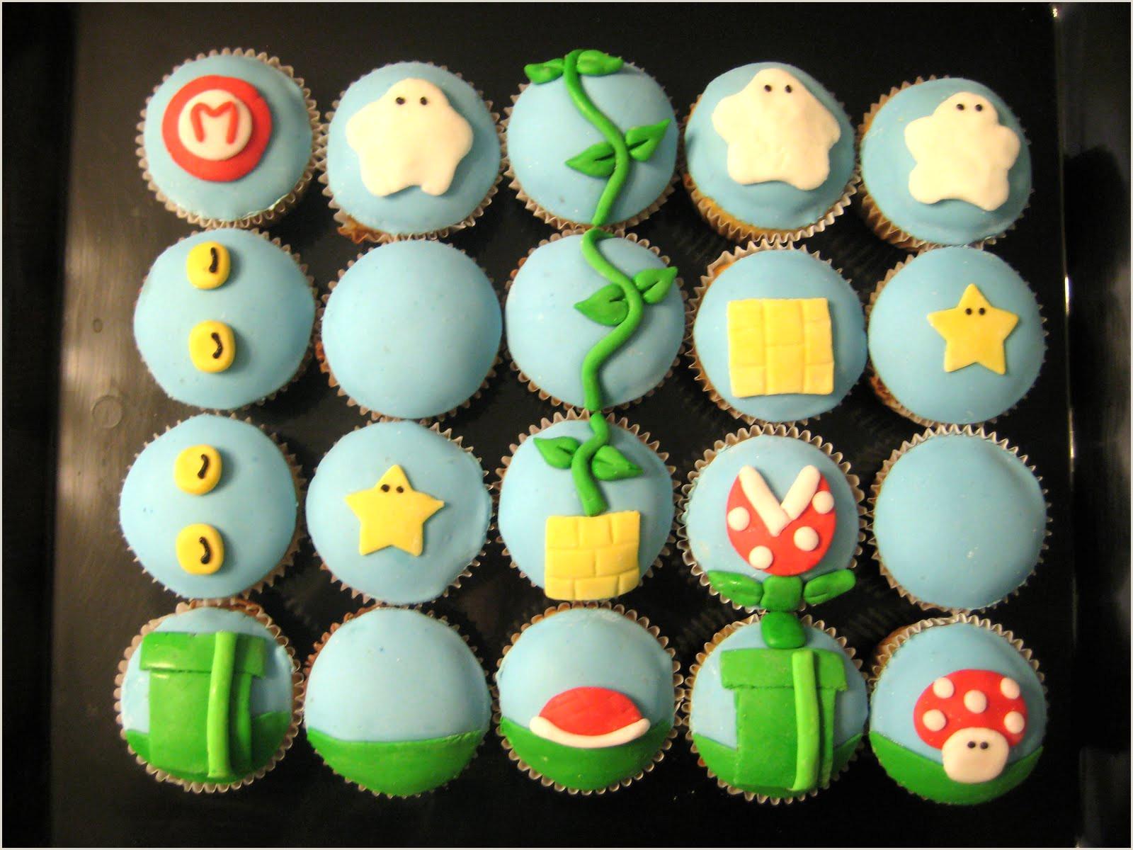The Cake Cow Super Mario Cupcakes