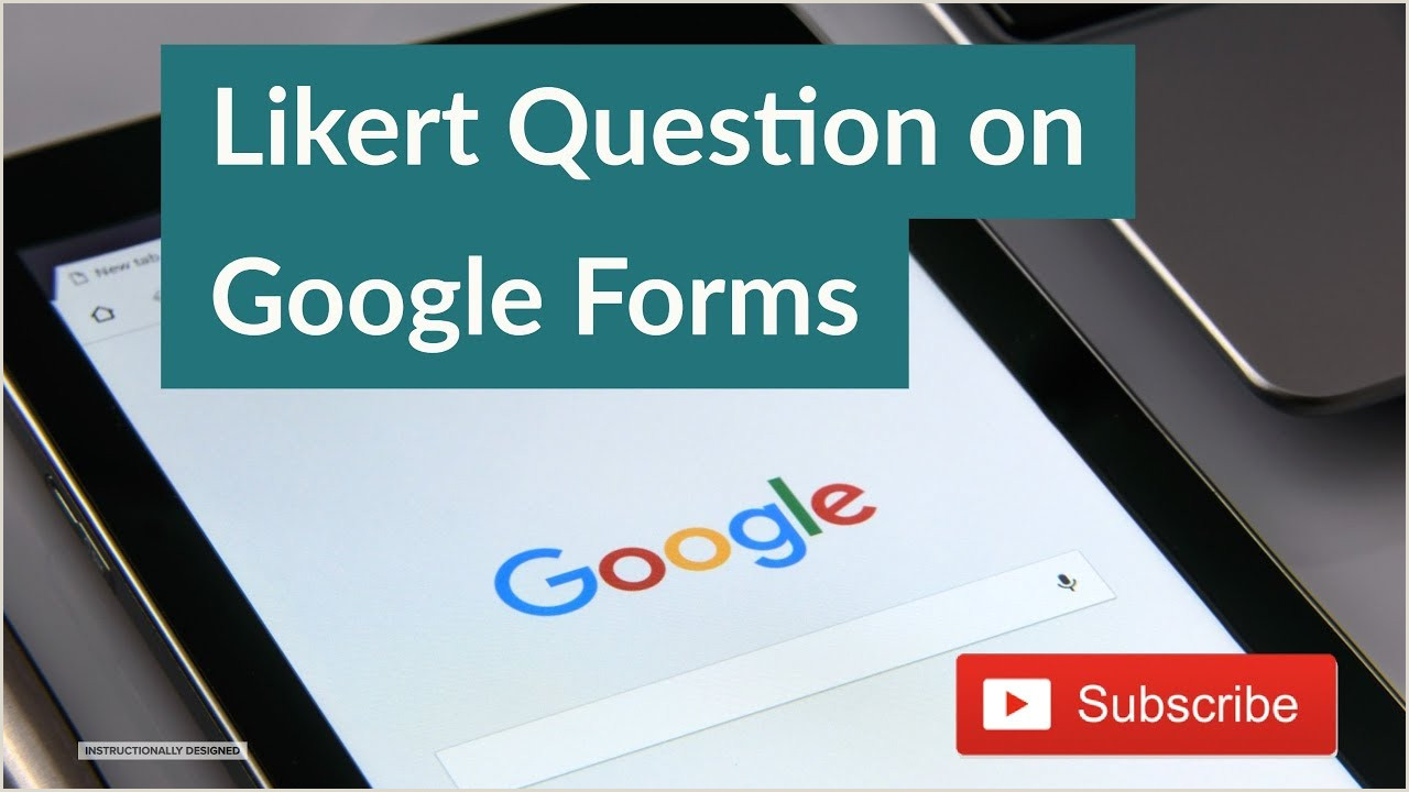 Creating Likert Scale Questions in Google Forms July 2015