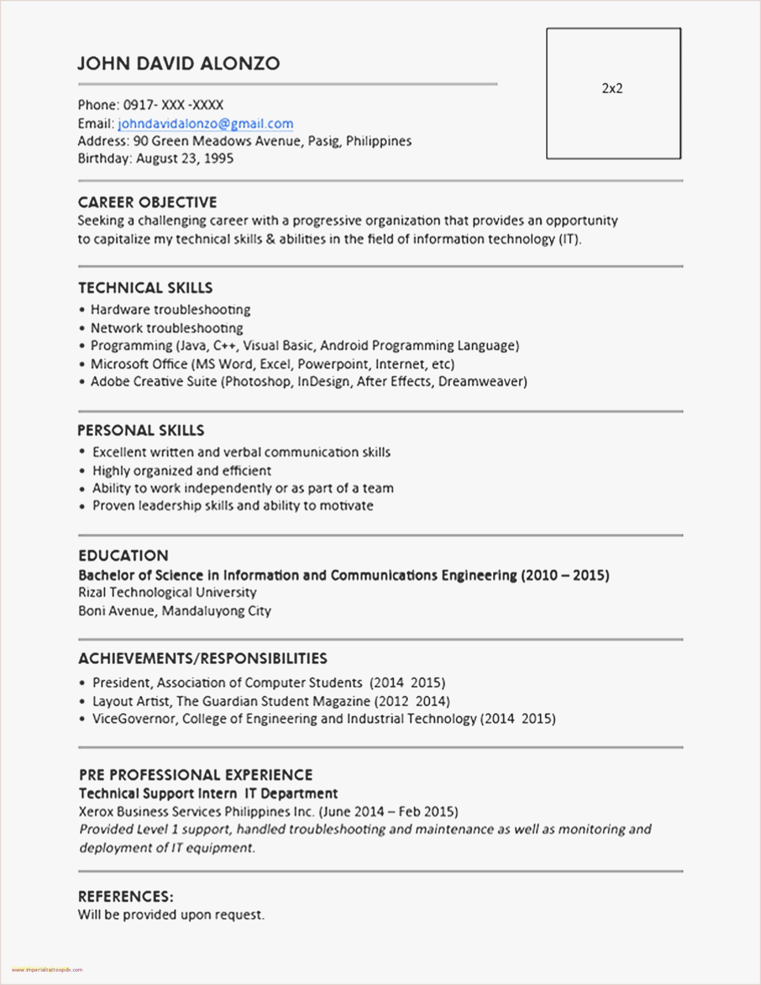 Line Service Technician Resume Engineering Skills for Resume Fresh Civil Engineer Resume