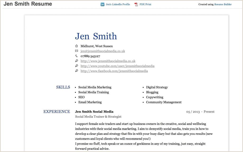 Linkedin Resume Builder 2016 Linkedin Cv Pdf De Base Fake Resume Generator 2 Linkedin