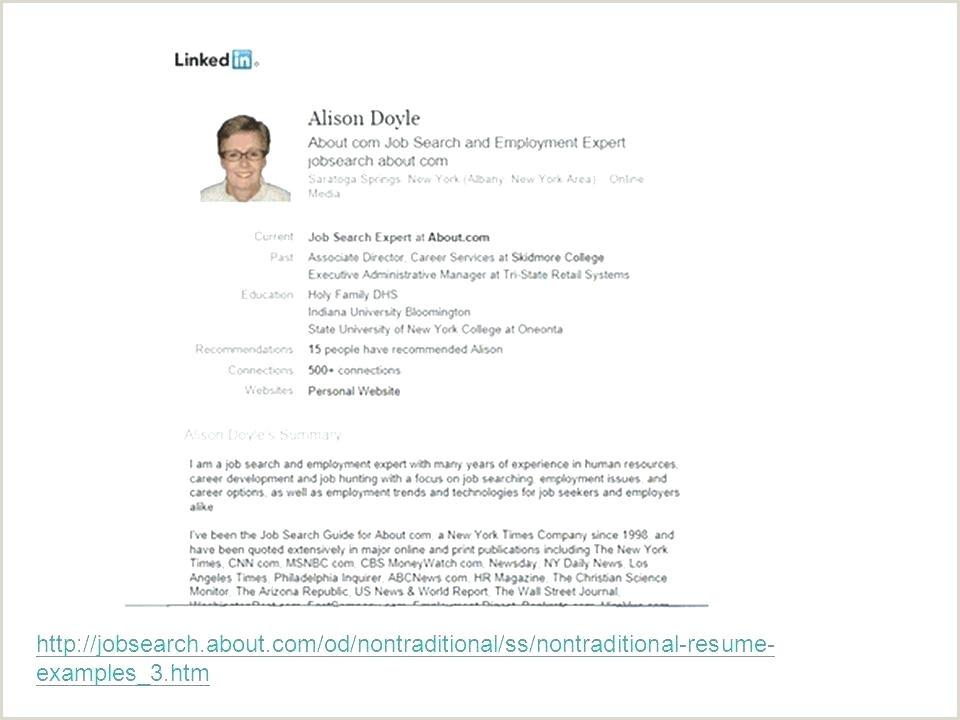 linkedin profile template – nyani