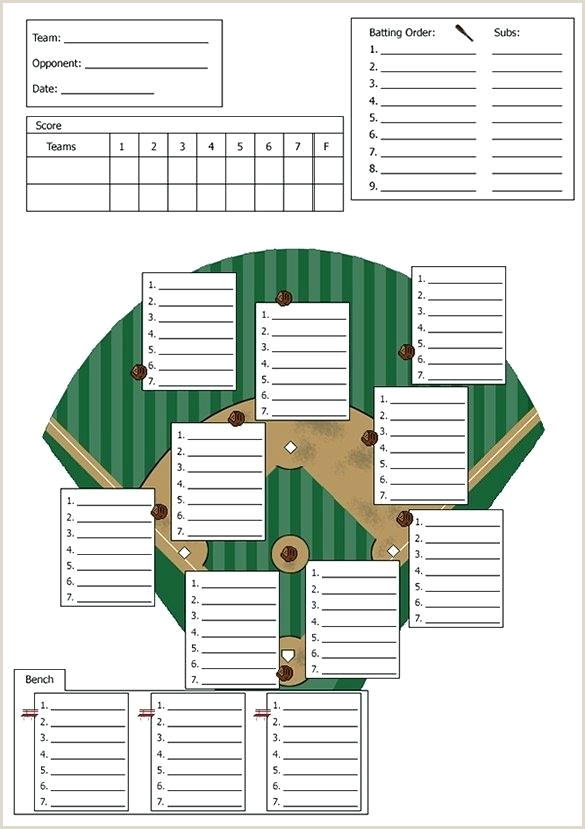 Little League Score Sheet Printable Baseball Lineup Sheet – Lastcolor