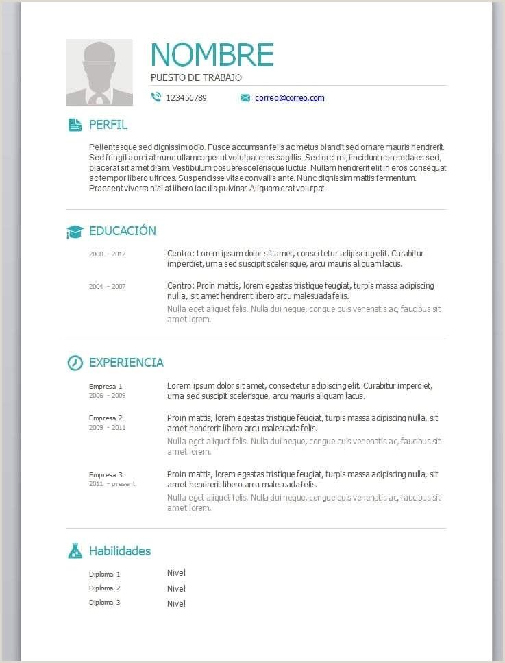 The Curriculum Vitae Formato Pdf Para Llenar Forum Aden