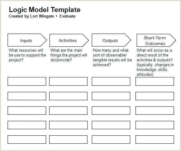 Logic Model Template Word Project Logic Model Template – toneswep