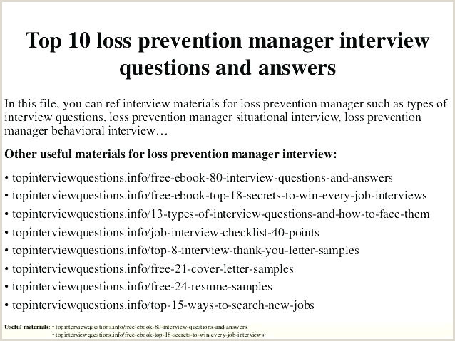 Loss Prevention Manager Cover Letter Loss Prevention Resume Objective – Paknts