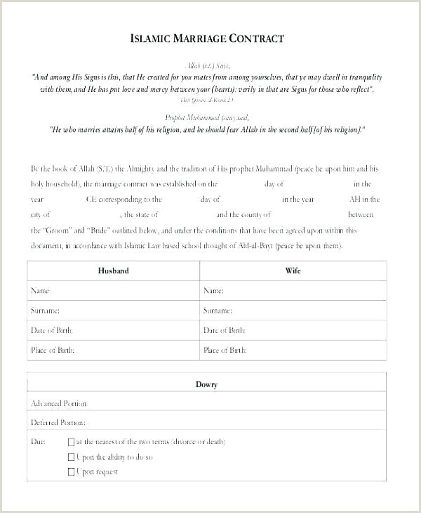 Love Contract Sample Clean Break Agreement form Template Marriage Contract Sample