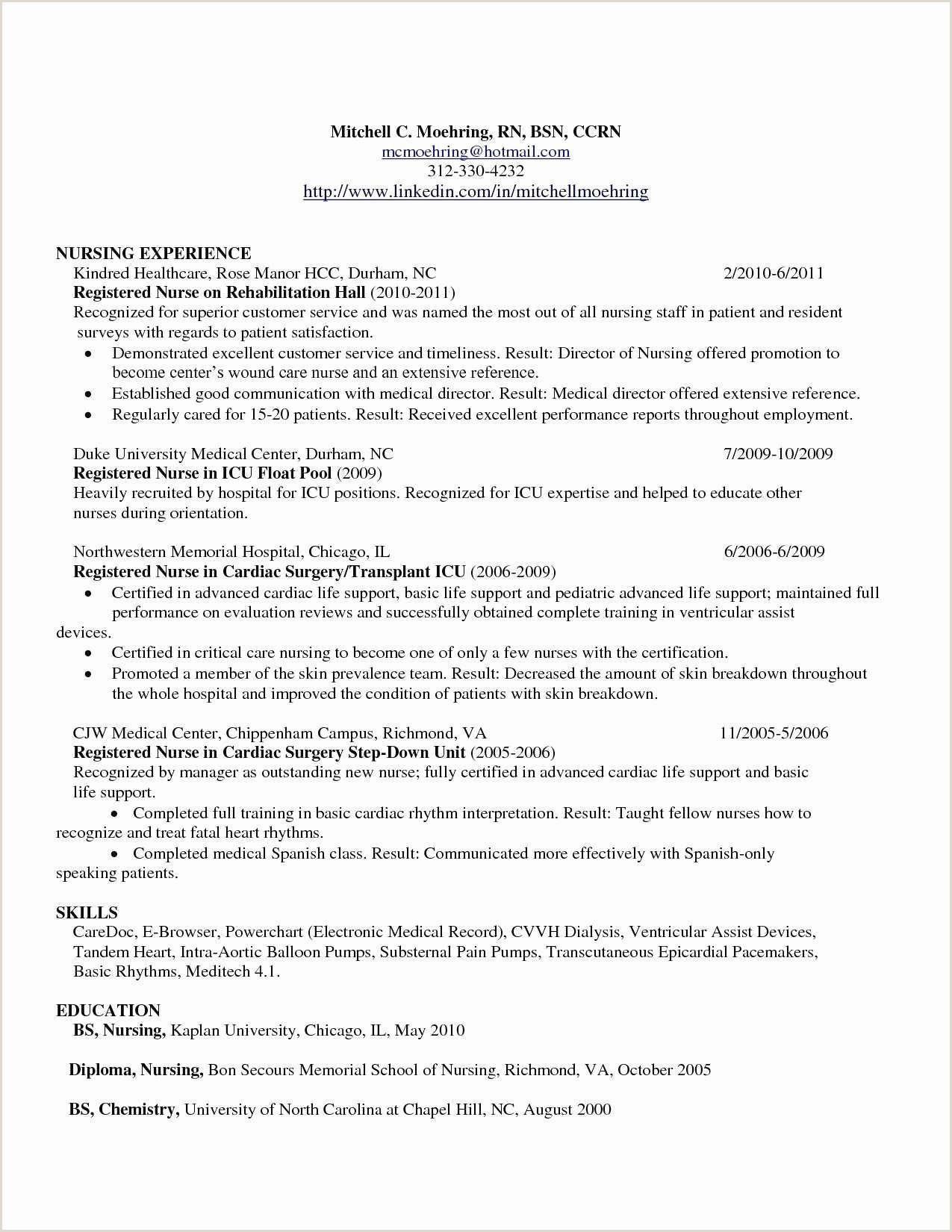 Lpn Resume Objective Best Sample Valid Nursing Practical