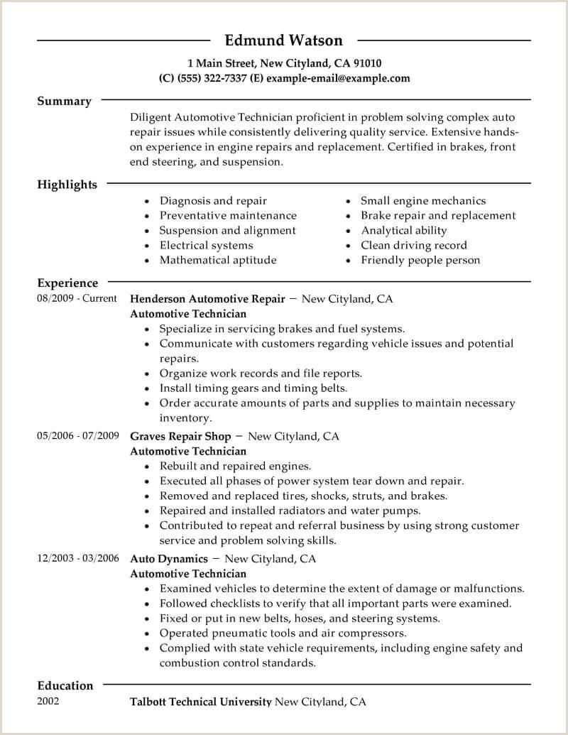 10 lube technician job description for resume