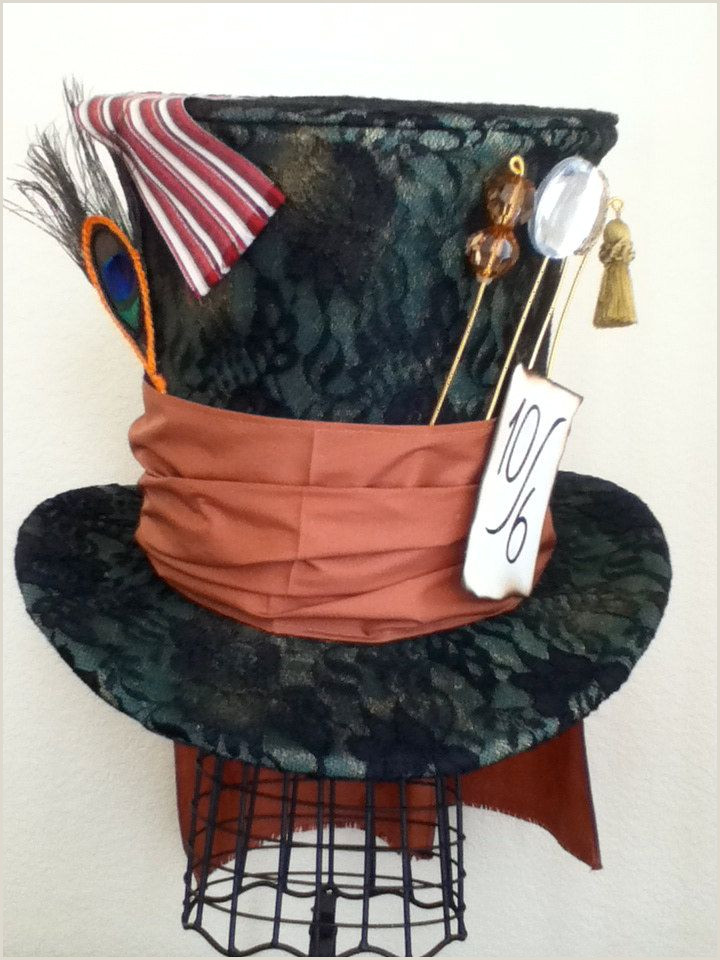 Tim Burton s Mad Hatter Top Hat $130 00 via Etsy Now as