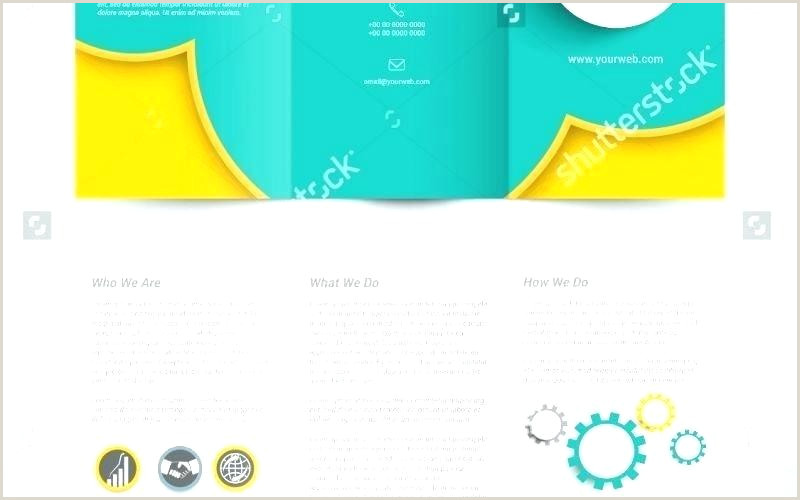 Make A Pamphlet Google Docs 6 Fold Brochure Template