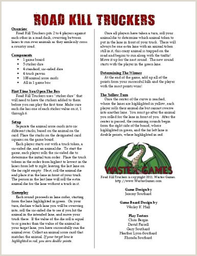 Make Your Own Playing Cards Template Document