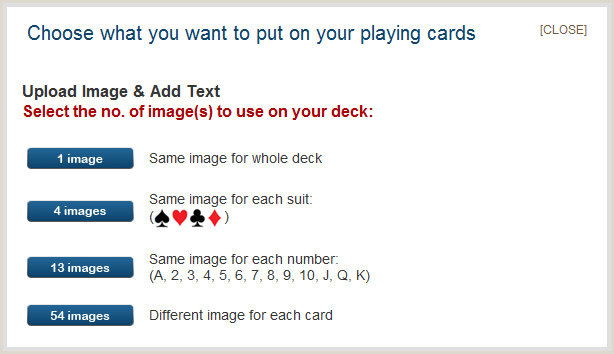 Make Your Own Playing Cards Template Playing Cards Specifications and Card Stock Type
