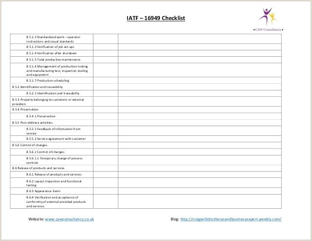 Manufacturing Work Instructions Examples Audit Checklist Sample Unique software Audit Template Fresh