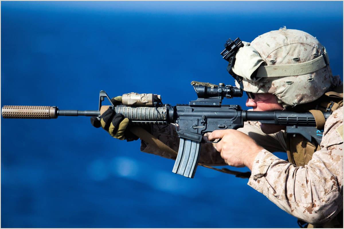 Marine Corps Letter format M4 Carbine