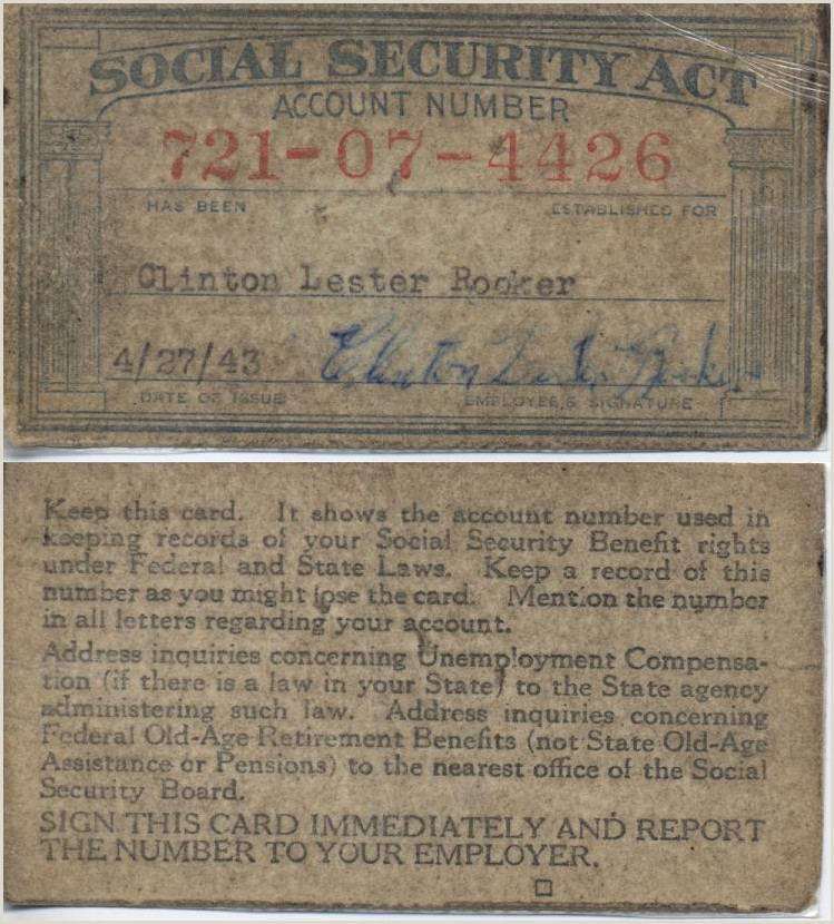 Marine Corps Letter format social Security Number