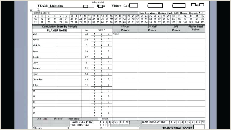Sponsored Links Basketball Stat Book Template Basketball