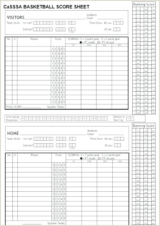 Mark V Basketball Scorebook Template Volleyball Stat Sheet Template Example Printable – Zenblooms