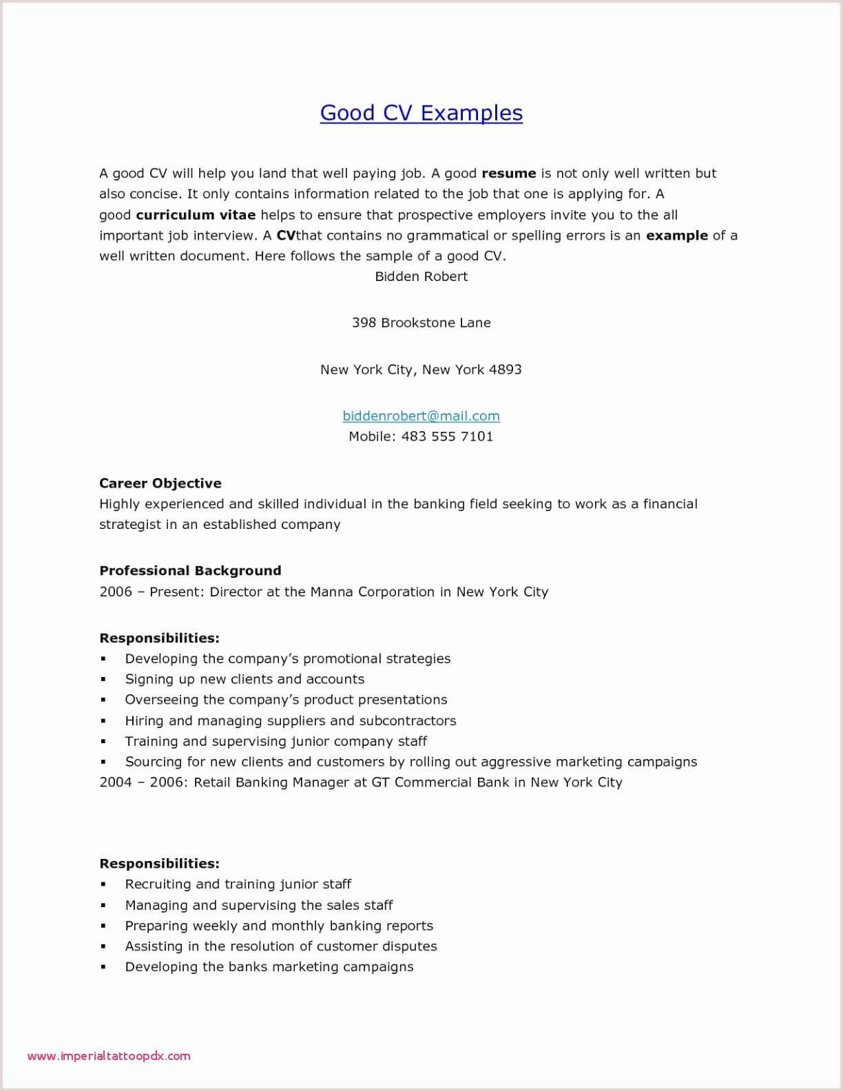 Unique Marketing Job Resume