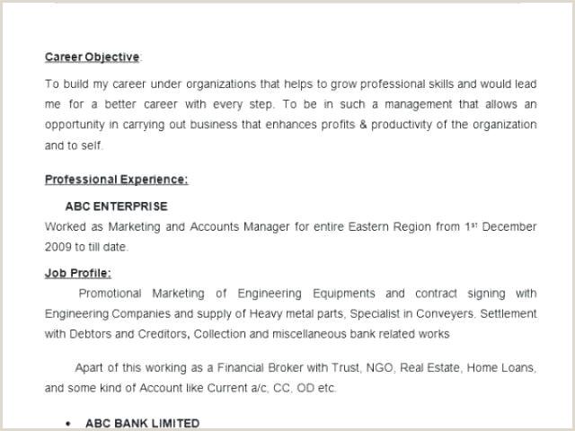 Marketing Manager Resume Objective Plant Manager Resume – Emelcotest