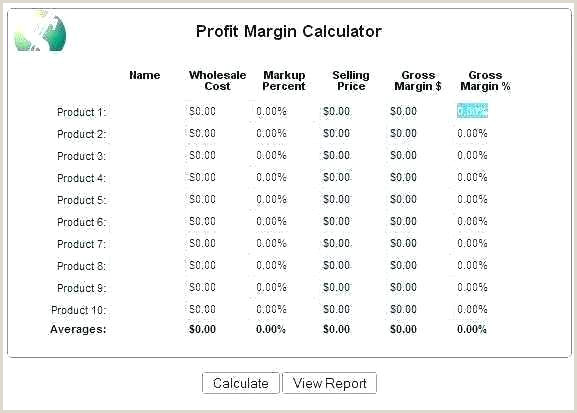 Markup formula In Excel Gross Margin Analysis Excel Template